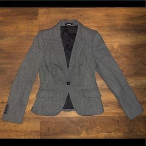 Gray suit jacket from Express